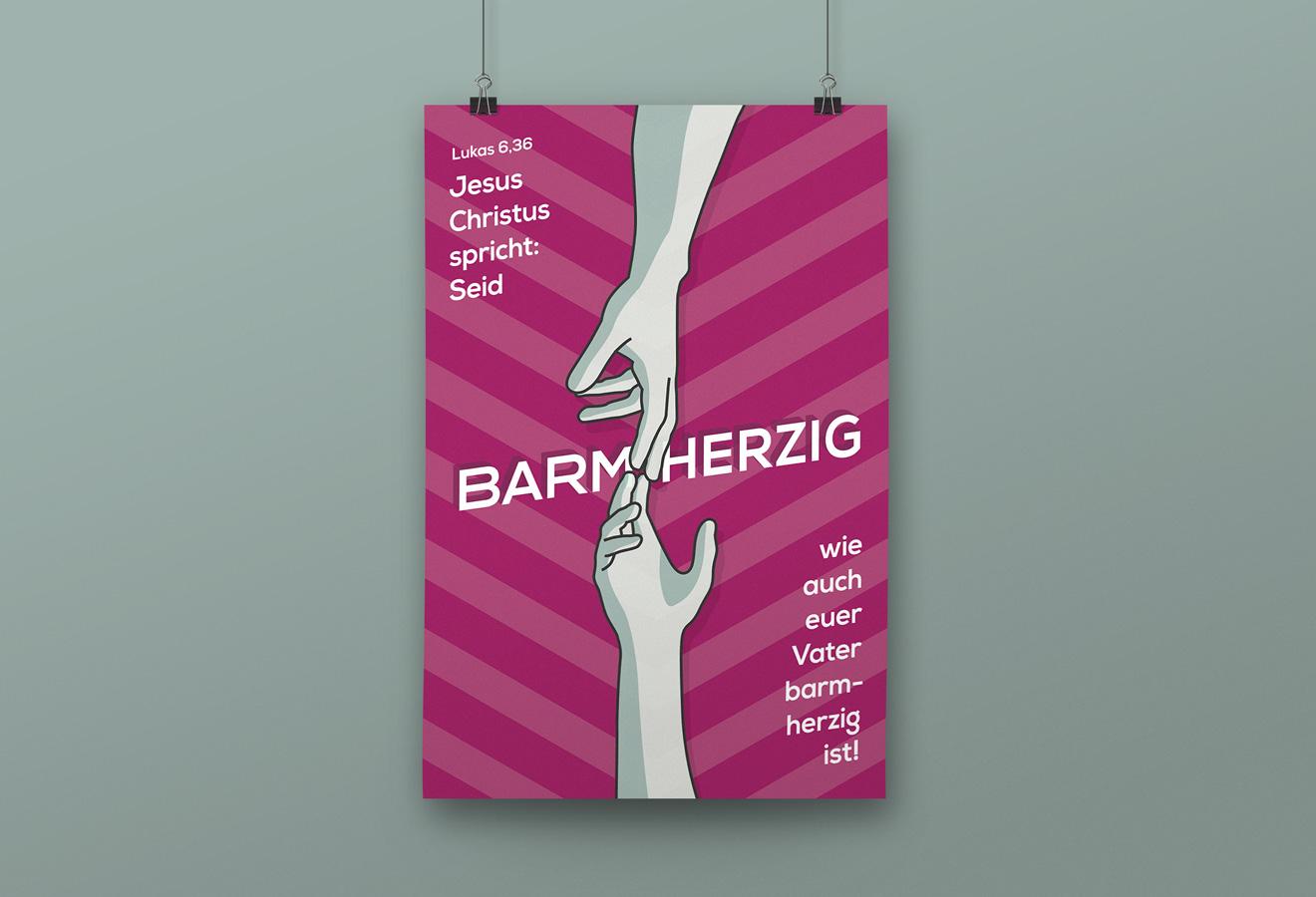 Jahreslosung 2021 Poster Ansicht