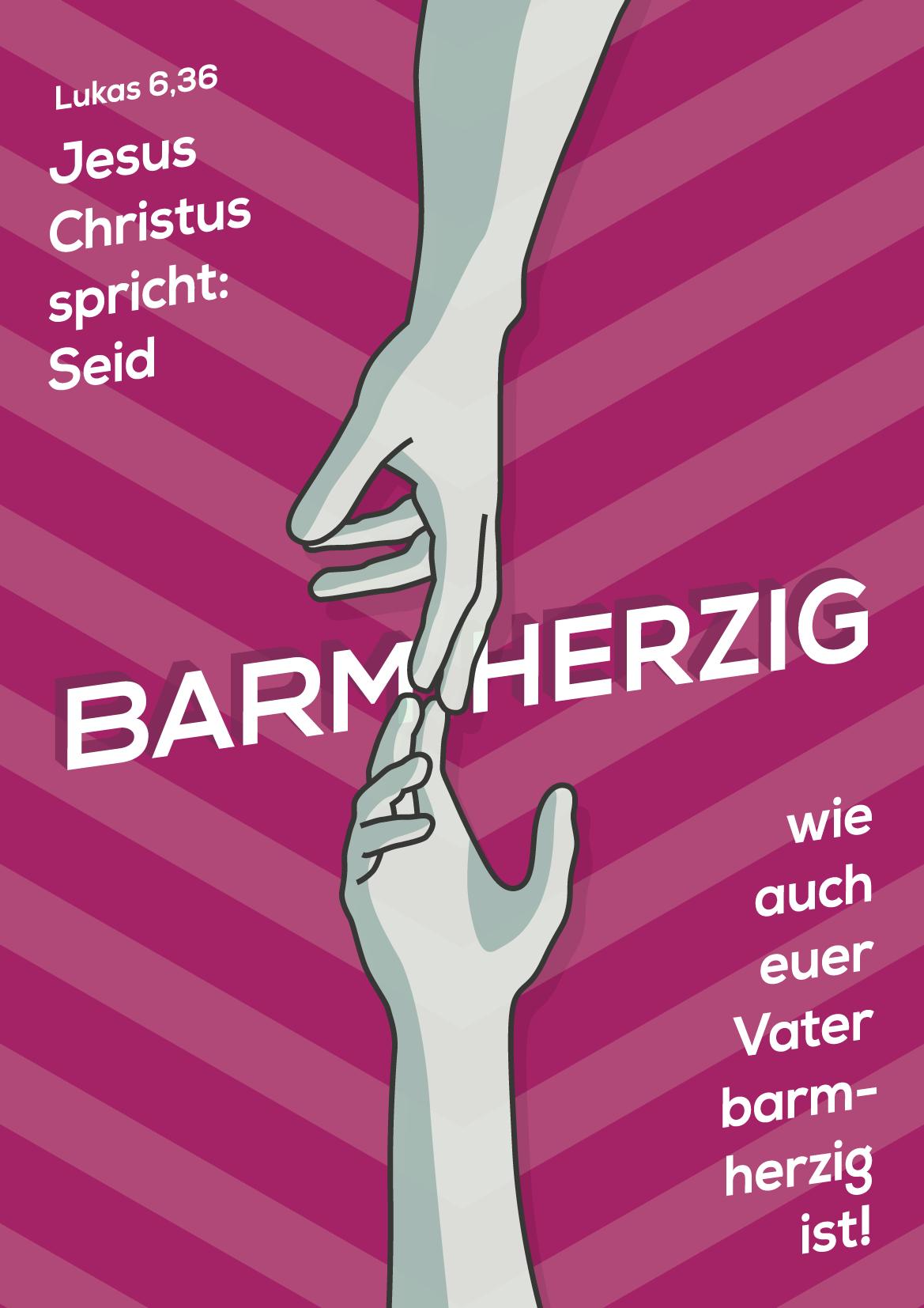 Jahreslosung 2021 Poster Design