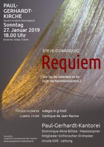 Konzert Paul-Gerhard-Kantorei Januar 2019