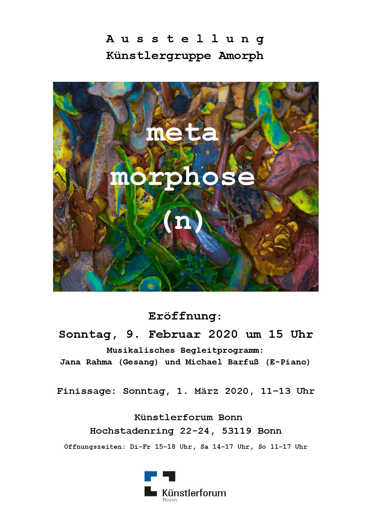 Ausstellung metamorphose(n)