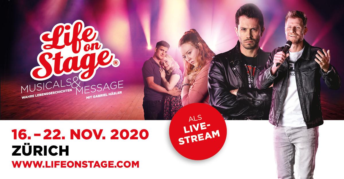 «Life on Stage» Musicals & Message im Livestream